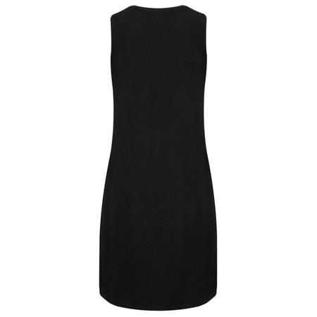 Myrine Ra Jersey Crepe Layer Dress - Black