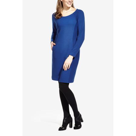 Sandwich Clothing Jacquard Jersey Dress - Blue