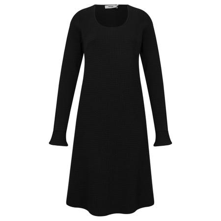 Myrine Selene Jersey Dress - Black