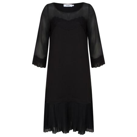Myrine Durga Chiffon Dress - Black