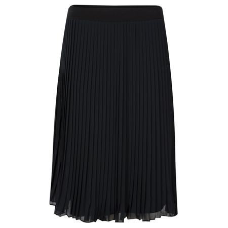 Myrine Devi Chiffon Skirt - Black