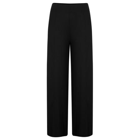 Myrine Ruadh Jersey Crepe Trouser - Black