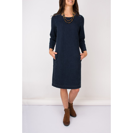 Sandwich Clothing Casual Denim Dress - Blue