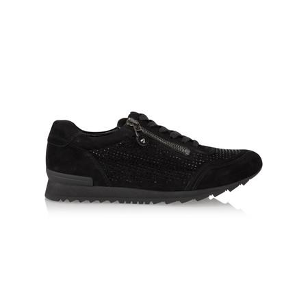 Kennel Und Schmenger Runner Luxe Crystal Trainer Shoe - Black