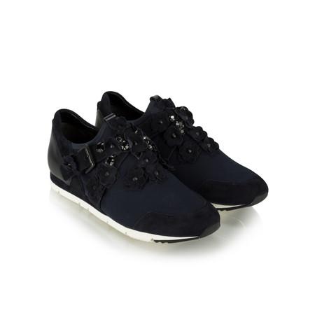 Kennel Und Schmenger Tiger Flower Luxe Trainer Shoe - Blue