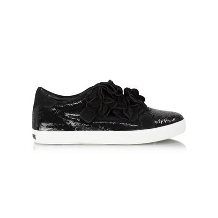 Kennel Und Schmenger Town Flower Luxe Trainer Shoe - Black