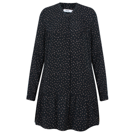 Myrine Banba Dots and Hearts Tunci Dress - Black