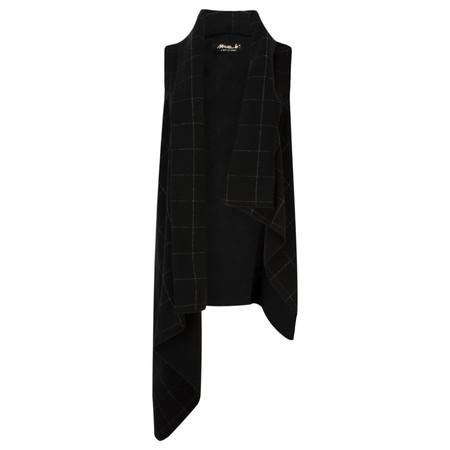 Mama B Akka Vest Jacket  - Black