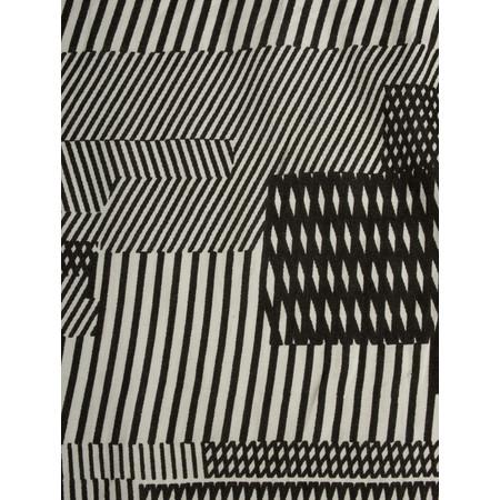 Masai Clothing Along Monochrome Scarf - Black