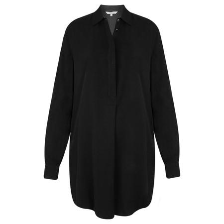 Sandwich Clothing Longline Flowy Shirt - Black