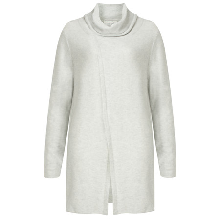 Sandwich Clothing High Neck Soft Wool Blend Pullover - White