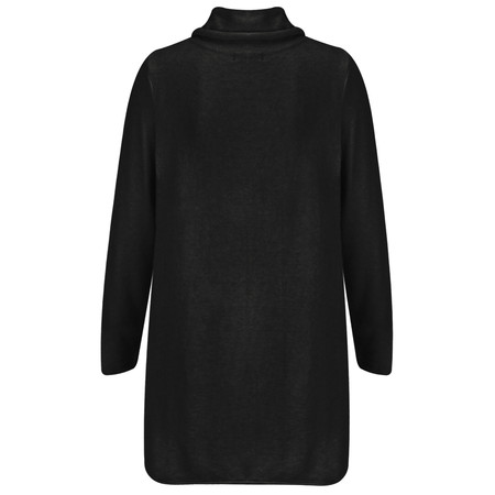 Sandwich Clothing High Neck Soft Wool Blend Pullover - Black