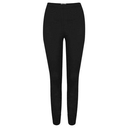 Sandwich Clothing Stretch Twill Side Zip Treggings - Black