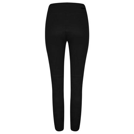 Sandwich Clothing Stretch Twill Side Zip Treggings - Black