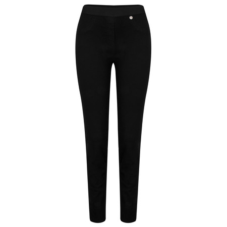 Robell Trousers Rose 78cm Super Slim Fit Jean - Black