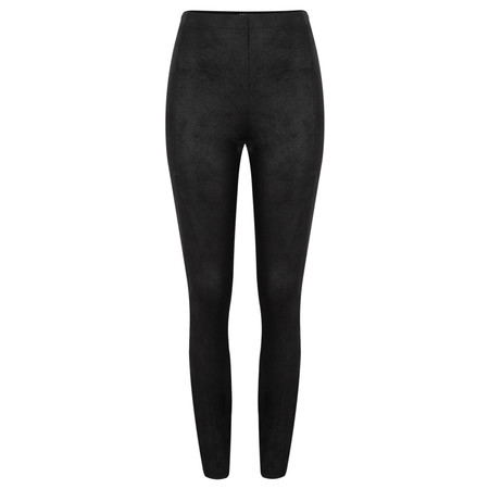 Robell Trousers Collette Coated Jodhpur Legging - Black