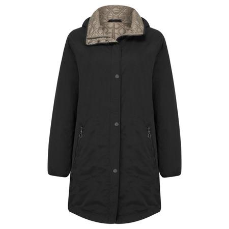 Frandsen Reversible Waterproof Jacket - Black