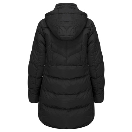 RINO AND PELLE Nusa Classic Longline Padded Coat - Black