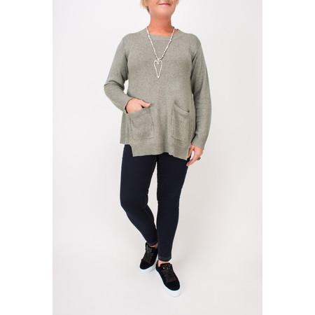 Masai Clothing Fenja Knitted Jumper  - Grey