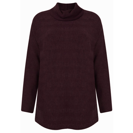Sandwich Clothing High Neck Brushed Wool Pullover - Red