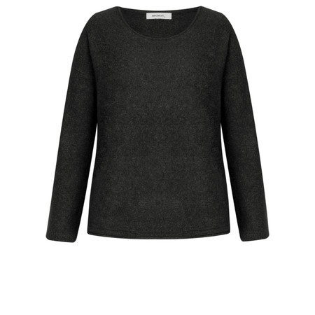 Sandwich Clothing Soft Wool Blend Pullover - Black