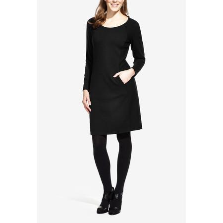 Sandwich Clothing Jacquard Jersey Dress - Black
