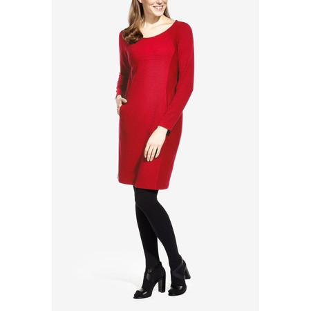 Sandwich Clothing Jacquard Jersey Dress - Red
