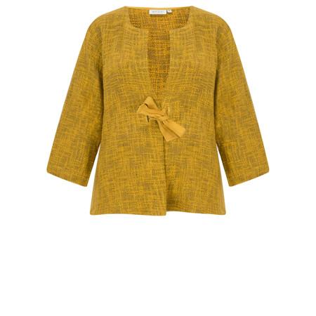 Masai Clothing Jonni Fitted Jacket - Yellow