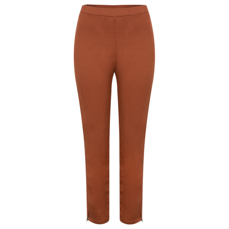 Masai Clothing Pepsa Capri Trousers - Orange