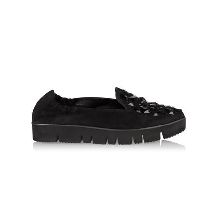 Kennel Und Schmenger Pia XXL Jewelled Flatform Shoe - Black
