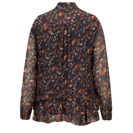 Great Plains Highland Floral Tassel Blouse - Multicoloured