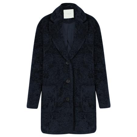 Yaya Oversized Boucle Coat - Blue