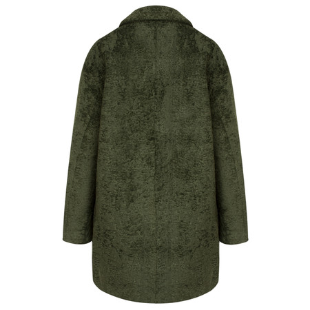 Yaya Oversized Boucle Coat - Beige