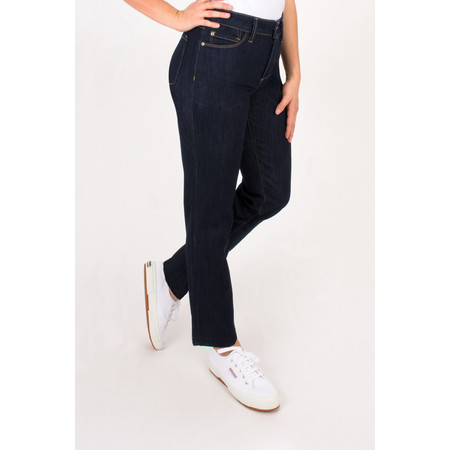 NYDJ Sheri Wide Straight Leg Jeans - Blue