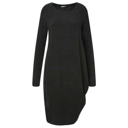 Mama B Sila Wide Stripe Dress - Blue