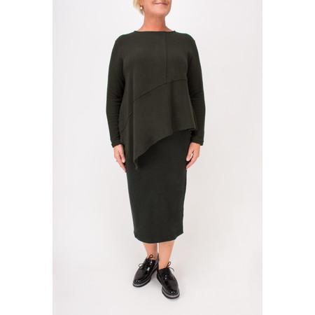 Mama B Pietra A-Symmetric Jumper - Green