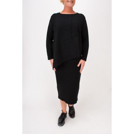Mama B Pietra Asymmetric Jumper - Black
