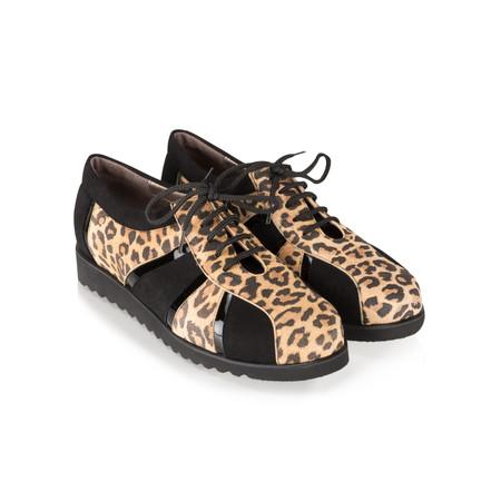 Gemini by GDF Asin Leopardo Combi Sports Luxe Shoe - Beige