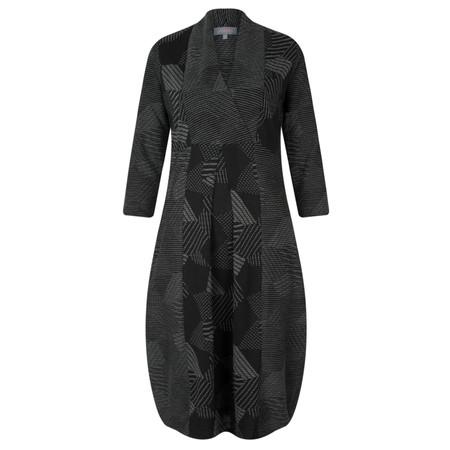 Sahara Patchwork Panel Dress - Black