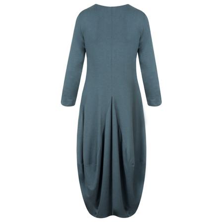 Sahara Jersey Bubble Dress - Blue