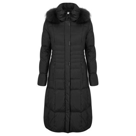 Frandsen Fur Lined Coat - Grey