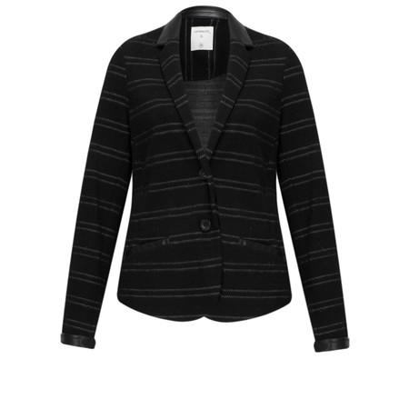 Sandwich Clothing Jacquard Striped Blazer - Black