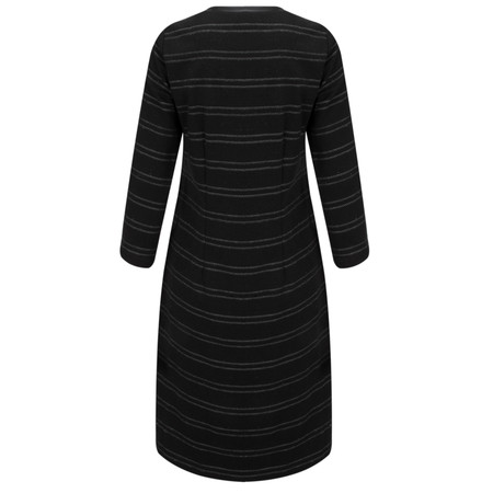 Sandwich Clothing Jacquard Striped Jersey Dress - Black