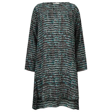 Masai Clothing Glenda Tile Print Tunic - Blue