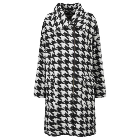 Masai Clothing Tia Straight Coat - Black