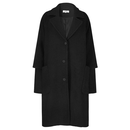 Masai Clothing Oversized Tracy Coat - Black