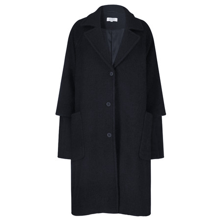 Masai Clothing Oversized Tracy Coat - Blue