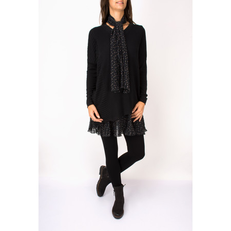 Myrine Hathor Knit Jumper - Black