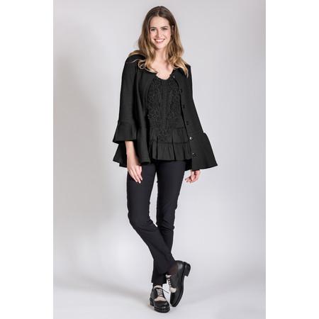 Myrine Saturnus Jersey Jacket - Black