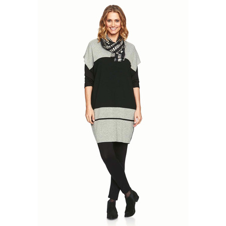 Masai Clothing Fotini Oversized Knitted Tunic - Grey